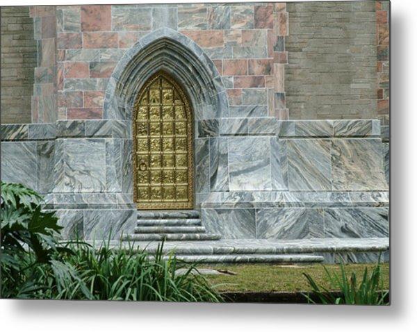 Bok Tower Entrance Metal Print