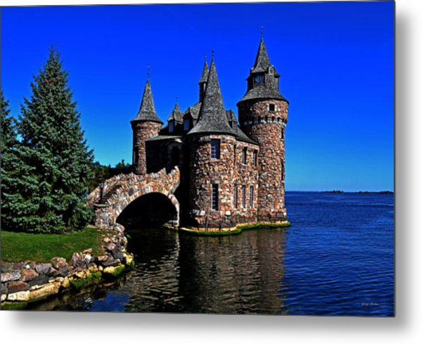 Boldt Castle - Power House 001 Metal Print