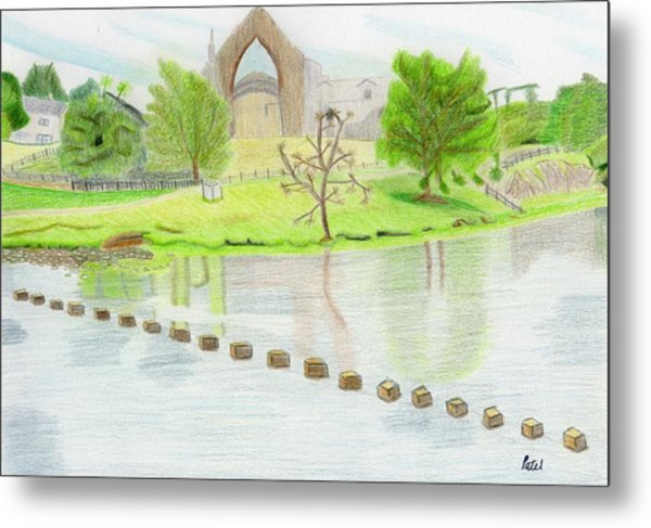 Bolton Abbey Metal Print by Bav Patel