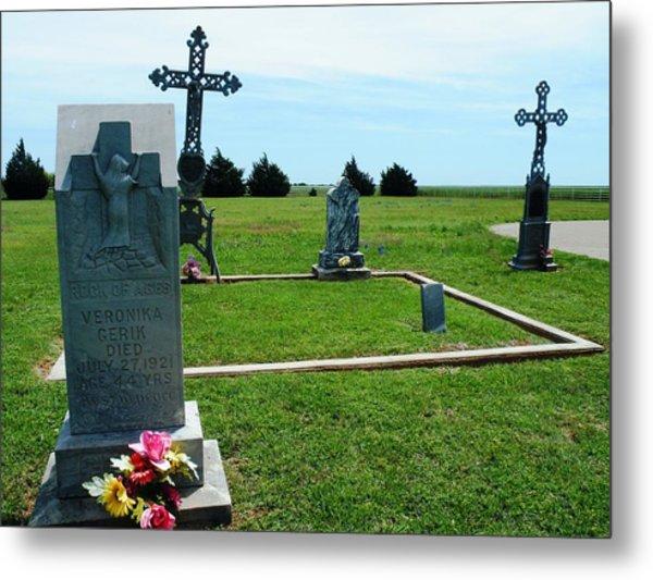 Bomarton Catholic Cemetery 7 Metal Print
