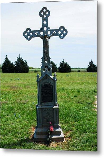 Bomarton Catholic Cemetery 9 Metal Print