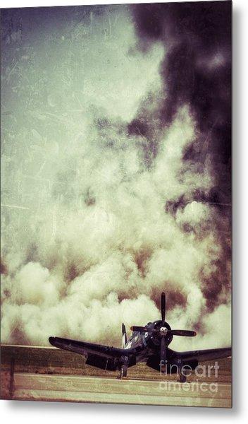 Bomb Run Metal Print