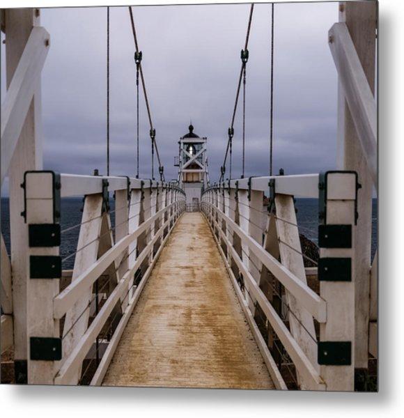 Bonita Point Lighthouse Metal Print