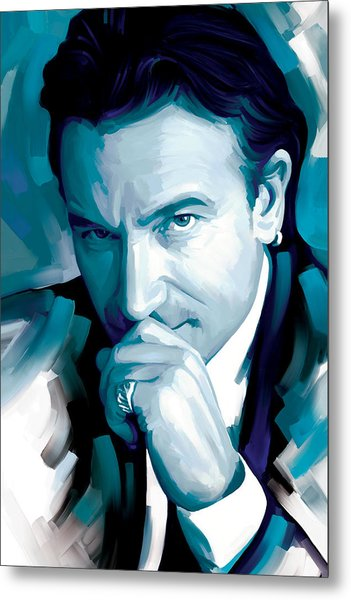 Bono U2 Artwork 4 Metal Print