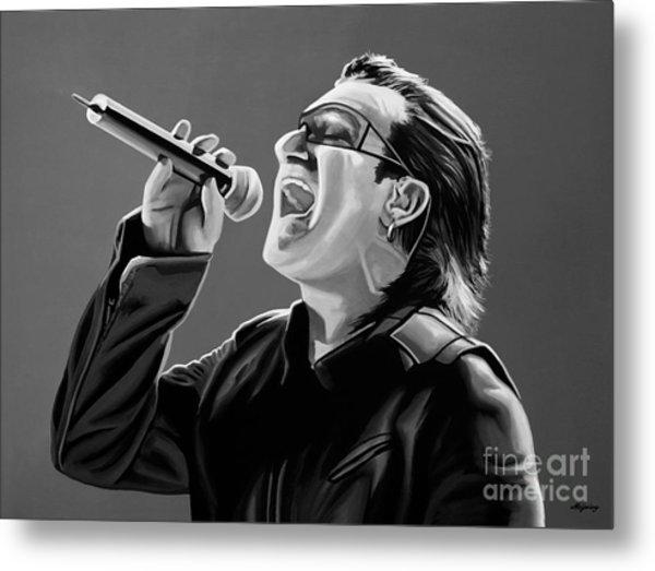 Bono U2 Metal Print