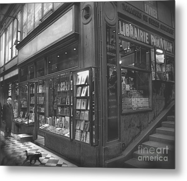 Bookstore Metal Print