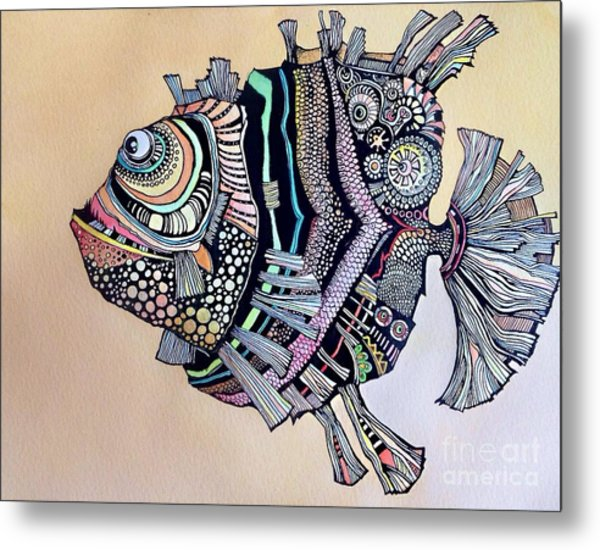 Boomer The Fish Metal Print
