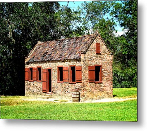 Boone Hall Plantation Slave Quarters Metal Print