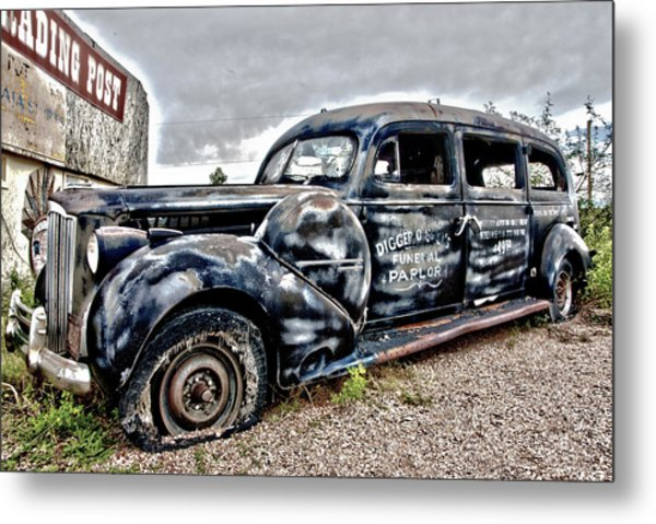 Boot Hill Metal Print