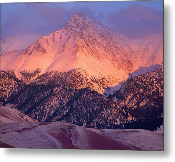 Borah Peak  Metal Print