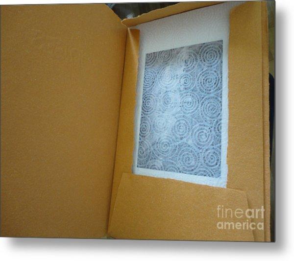 Borges Metal Print