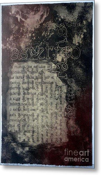 Borges 5 Metal Print