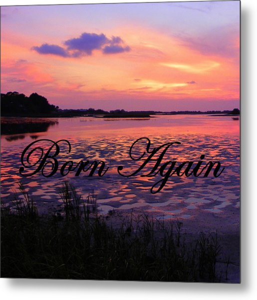 Born Again  Metal Print