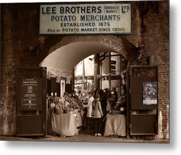 Borough Market Metal Print by Stephen Norris