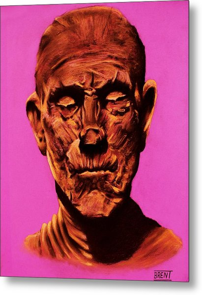 Borris 'the Mummy' Karloff Metal Print