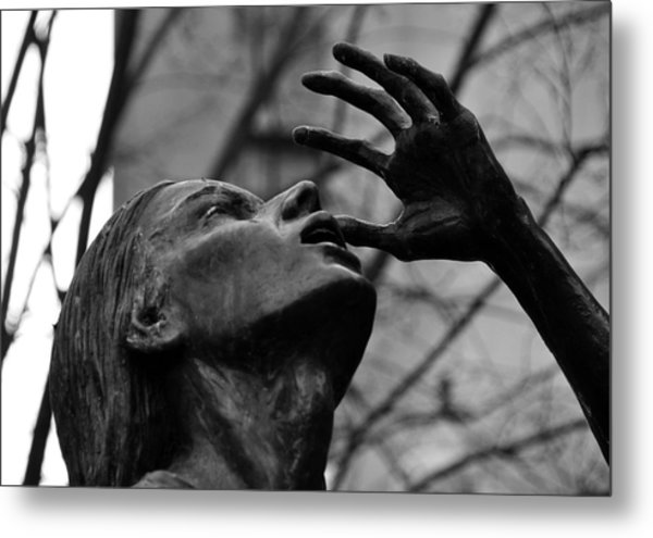 Boston Irish Famine Memorial Metal Print