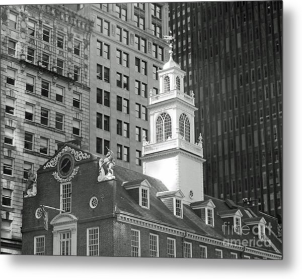 Boston Old State House Metal Print