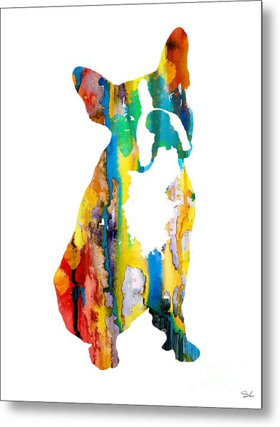 Boston Terrier 3 Metal Print