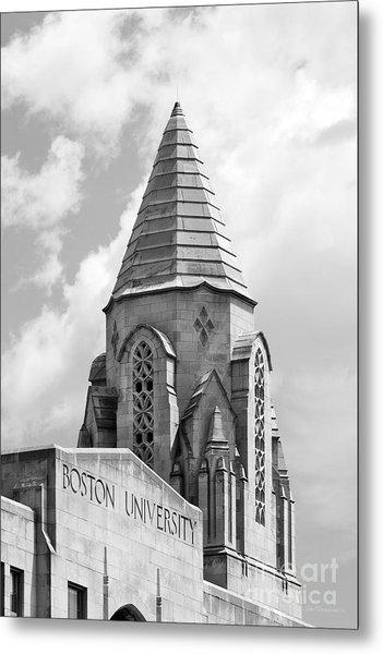 Boston University Tower Metal Print