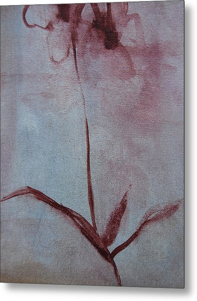 Metal Print featuring the painting Botanical Flowers by Jani Freimann