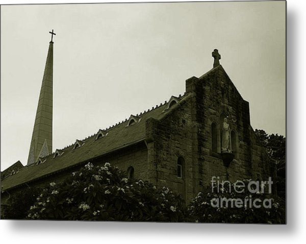 Botanical Gardens Cathedral Metal Print by Cheryl Boutwell