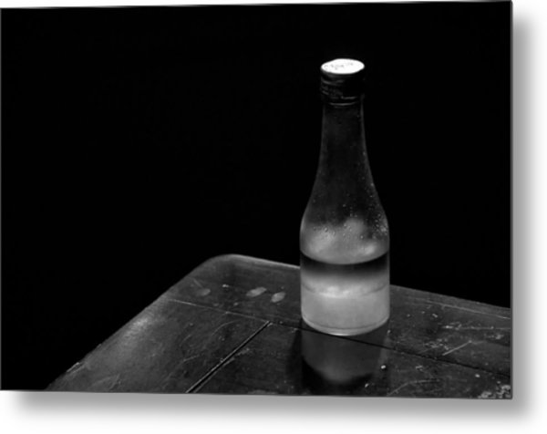 Bottle And Corner Metal Print by Guillermo Hakim