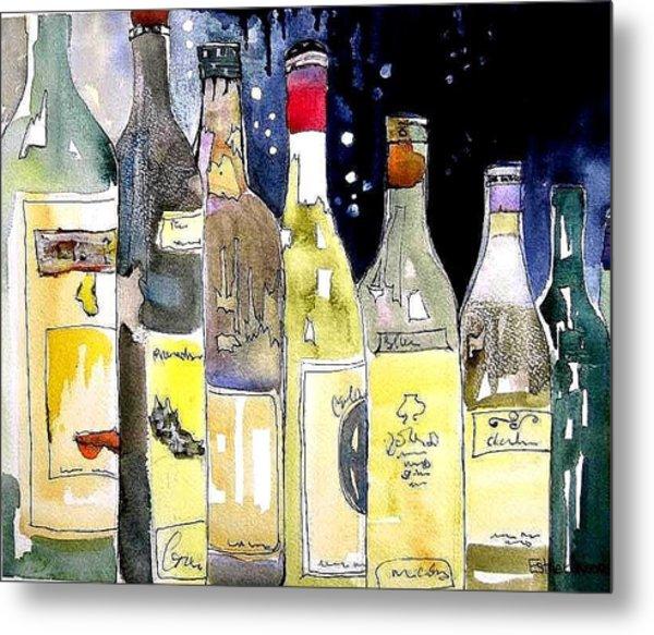 Bottles No 1 Metal Print