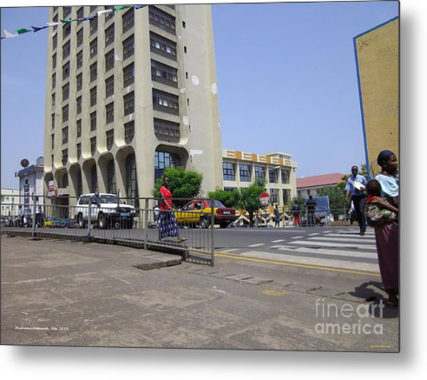 Bottom Up Sierra Leone Commercial Bank Metal Print