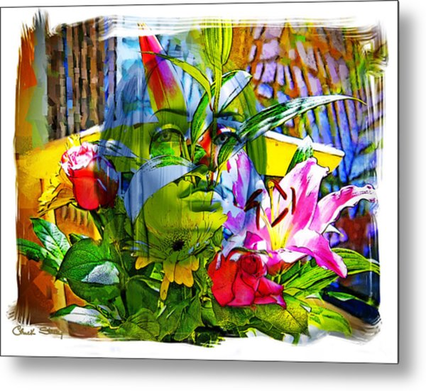 Bouquet Metal Print