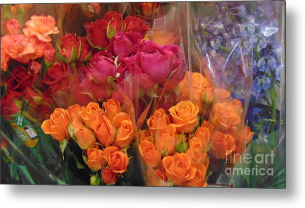 Bouquet Of Roses Metal Print