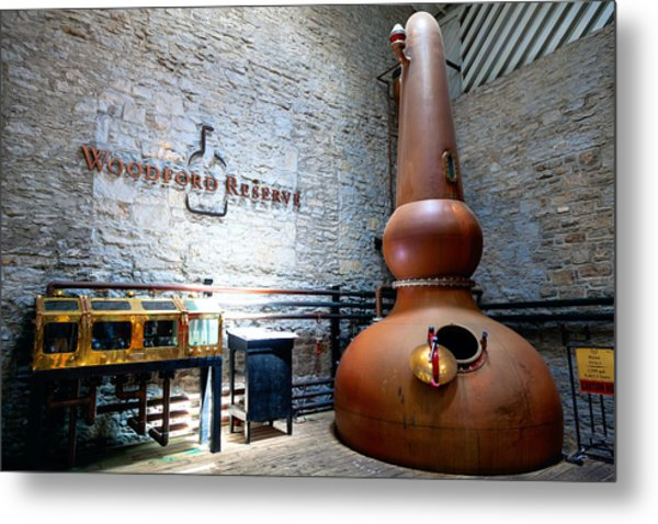 Bourbon Distillery Metal Print