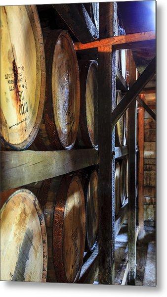 Bourbon Warehouse Metal Print