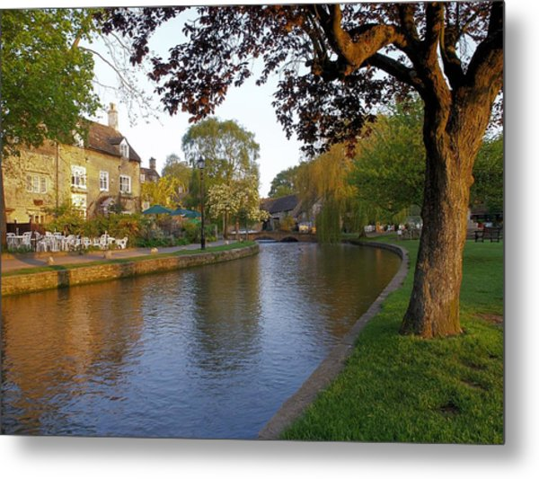 Bourton On The Water 3 Metal Print