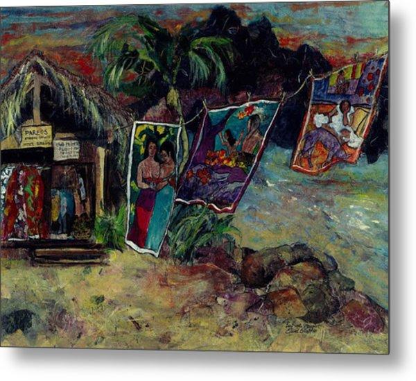 Boutique Gauguin Metal Print