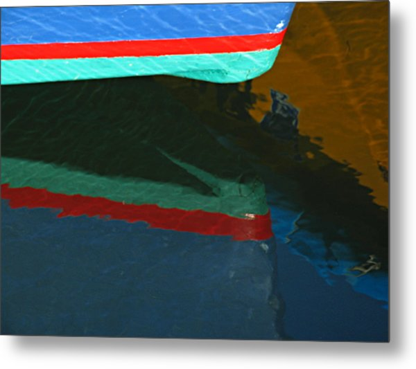 Bow Reflection Metal Print by Juergen Roth
