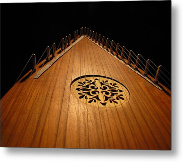 Bowed Psaltery Metal Print