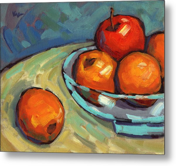 Bowl Of Fruit 2 Metal Print