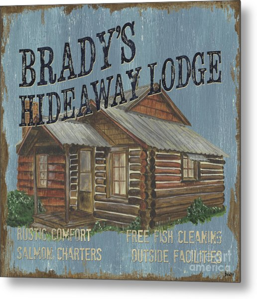 Brady's Hideaway Metal Print
