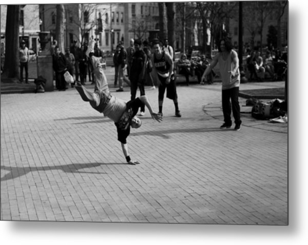 Brake Dance 001 Limited Edition To 10 Metal Print