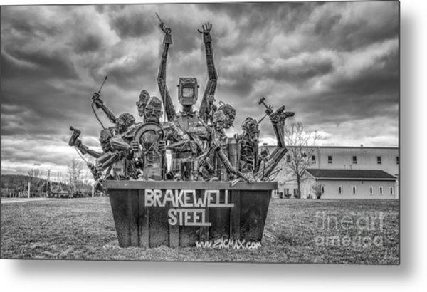 Brakewell Steel Metal Print