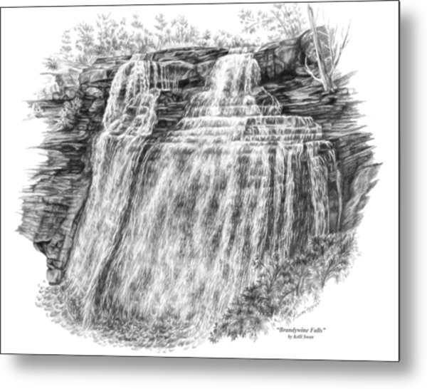 Brandywine Falls - Cuyahoga Valley National Park Metal Print