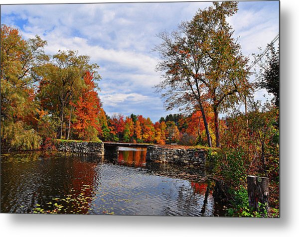 Brant Lake Bridge  Metal Print
