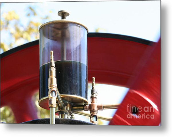 Brass Love Metal Print by Laura Paine