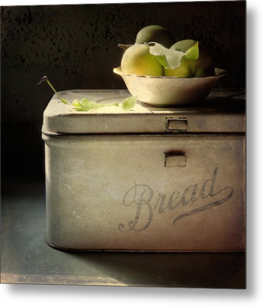 Metal Print featuring the photograph Bread by Sally Banfill