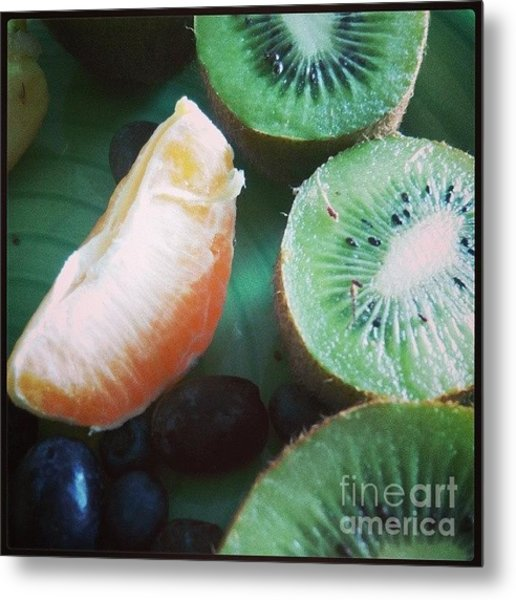 Breakfast #food #diet Metal Print