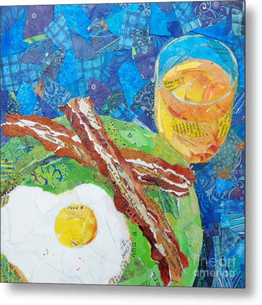 Breakfast Is Ready Metal Print