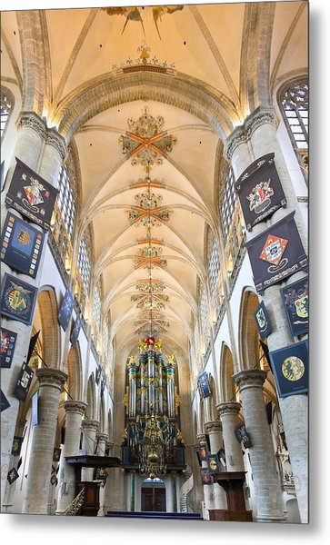 Breda Cathedral Metal Print