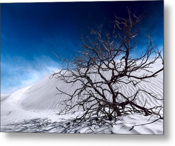 Brewing Sand Storm Metal Print