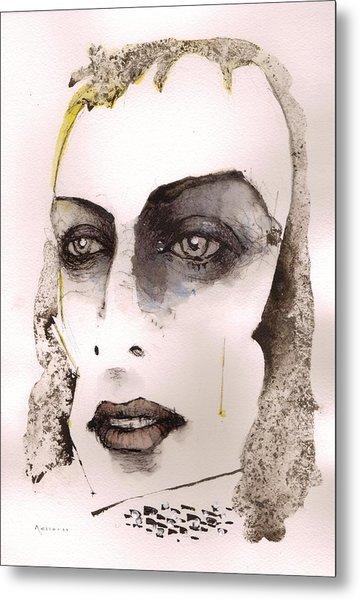 Brian Eno Metal Print