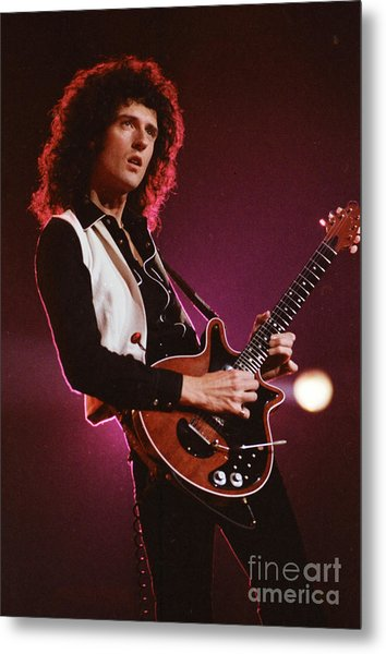 Brian Of Queen Metal Print